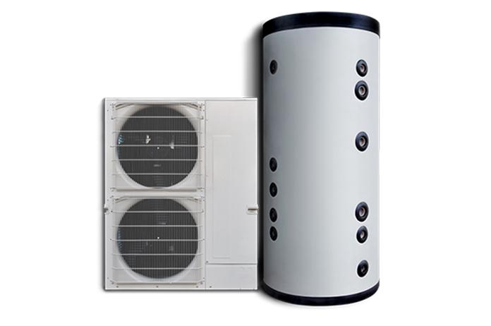 Pompa di Calore per la produzione di acqua calda