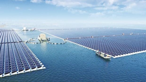 Il più grande fotovoltaico galleggiante del mondo