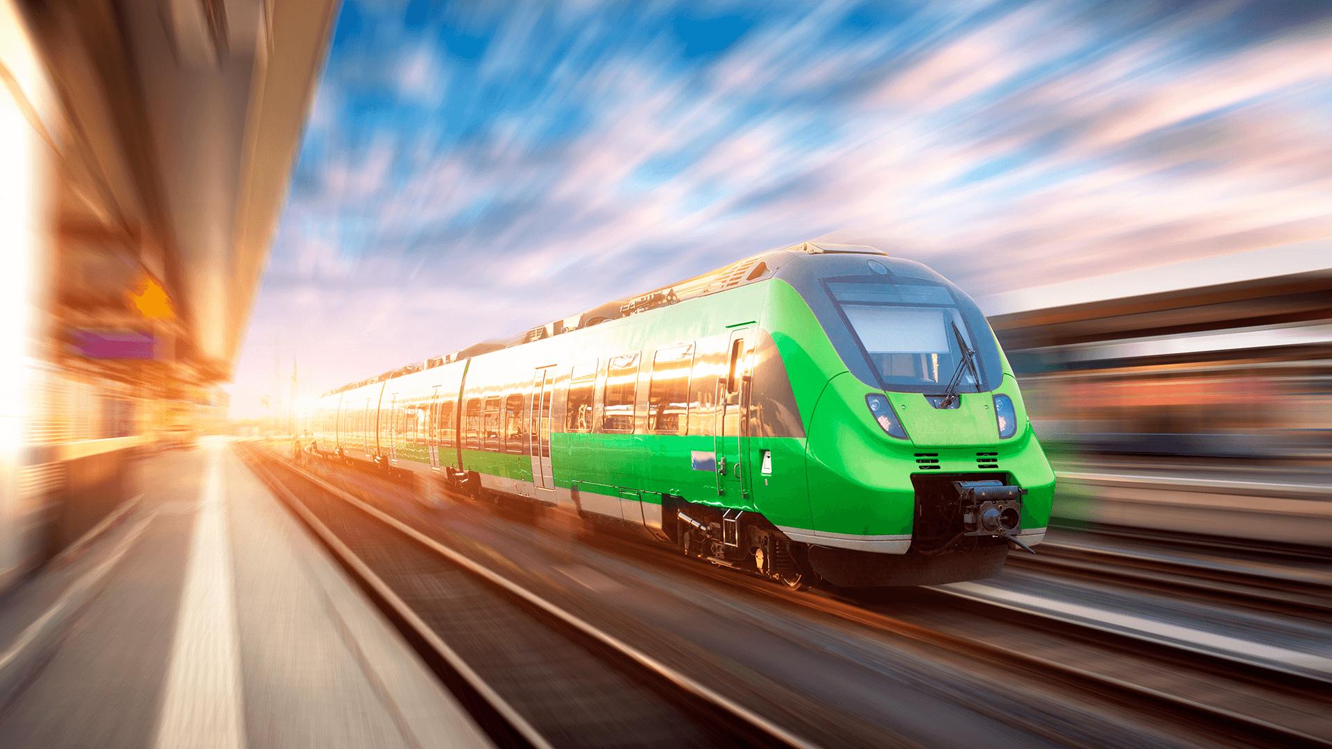 train-green