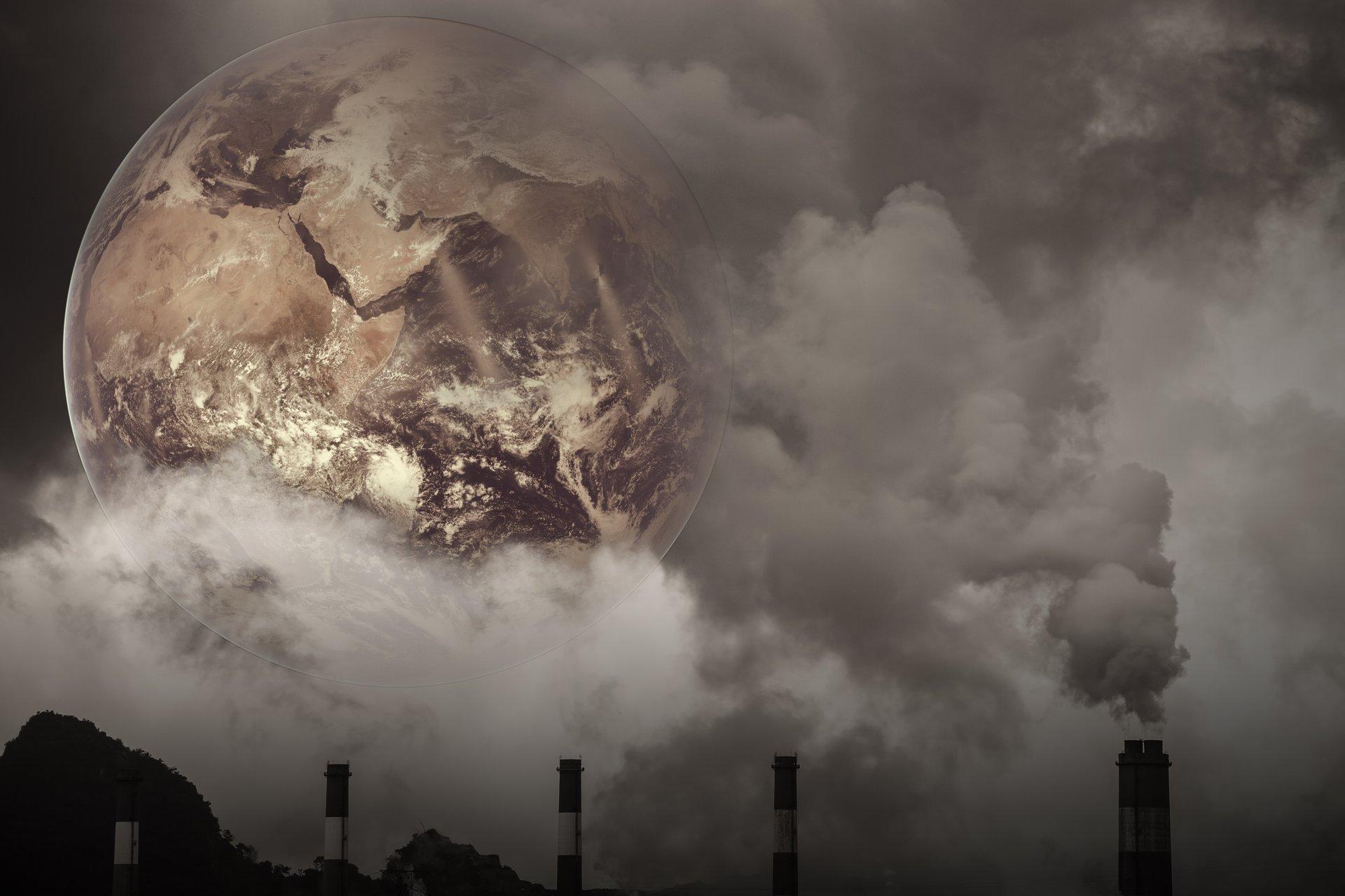 inquinamento globo