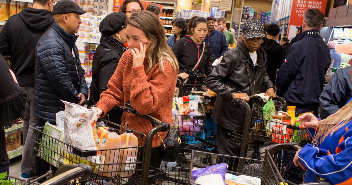 Supermercati assaltati
