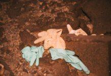 inquinamento guanti